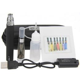 Wholesale Ego Liquid Bottle - Wholesale- 10pcs lot ego ce5 starter kits ce5 elektronik sigara kit ce5 atomizer ego t battery usb charger liquid bottle zipper case
