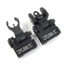 Wholesale Metal Troy Sight - The New 2017 Troy Metal Folding Front and Rear Sight SZ0009