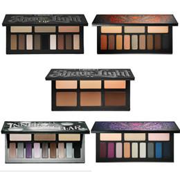 Wholesale Glitter Makeup Sets - Makeup Set Contour Kit Eyeshadow Palette SHADE & LIGHT CONTOUR PALETTE Multicolor Bronzers & Highlighters Palette