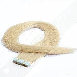 Wholesale High Quality Tape Extensions - Skin Weft Human Hair Extensions 100% Indian Remy Tape In Hair 16''-28'' 2.5g s 60pcs lotOmbre High Quality Skin Weft Hair