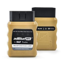 2019 programador chave automático AdblueOBD2 Emulador Adblue Para Renault / HOMEM / DAF / IVECO / Volvo / SCANlA Nox Opcional Emulador OBD2 frete grátis