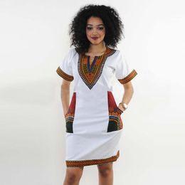 Wholesale Summer Cotton Shirts For Women - African Traditional Dress Dashiki Shirts For Women Men Red Pattern Printing Cotton Blouse Women Clothing Short Sleeve