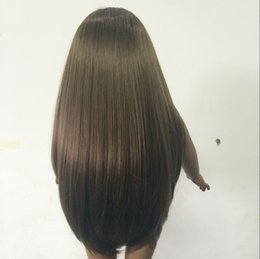 Wholesale Long Wigs For Dolls - Hot Selling Long straight Wig for 18 inch American Girl Doll
