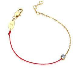 2019 rose rosse singole 2017 vendita calda singolo braccialetto trapano rosso fortunato corde tessitura bracciale in acciaio titanio oro rosso braccialetto intrecciato trasporto libero rose rosse singole economici
