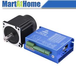 Wholesale Cnc Kit Nema - 8.5Nm Closed-loop Hybrid CNC Machine Kit 2HSS86H Step Servo Driver & NEMA 34 Motor 86J18118EC-1000 #SM745 @SD