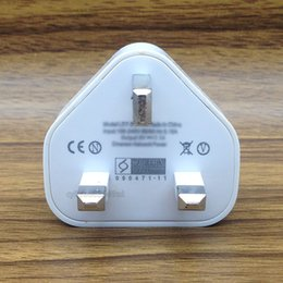 Wholesale Uk Usb Plug High - 200pcs lot High Quality 1000MA USB Wall Charger 5V 1A White UK Plug Charger for universal smart phone