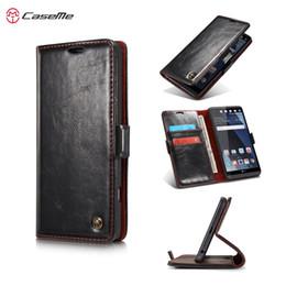 Wholesale Phone Case Auto - For LG V20 Case Cover CaseMe Luxury PU Leather Magnetic Auto Flip Cover Case Fundas Stand Phone Case for LG V20