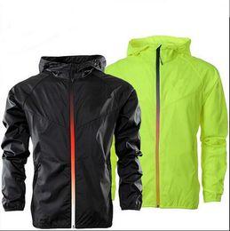 Wholesale Men Black Nylon Windbreaker Jacket - New arrival style fashion jackets 2017 NK monolayer sport coats male windcheater jackets windbreaker hooded movement male thin coat