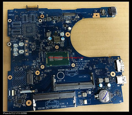 Wholesale Mini Motherboard Cpu - original For Dell Inspiron 17 5558 5758 laptop FRV68 0FRV68 AAL10 LA-B843P SR23Y i5-5200U CPU integrated motherboard