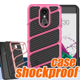 Wholesale Iphone Hard Gel Case - For S8 S8PLUS iPhone 7 7 Plus Case 2 in 1 Shockproof Armor Hard Frame TPU Gel Hybrid cell phone cases