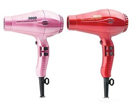 Wholesale 7 Colors US UK EU AU Plug Pro Professional Hair Dryer High Power W Ceramic Ionic Hair Blower Salon Styling Tools