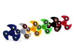 Wholesale mini ninjas - NEW Hand Spinner Ninja Fidget Spinner Arrival Metalworn Professional Triangle EDC Focus ADHD Toy with Retail Box DHL Free