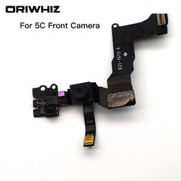 Wholesale iphone 5s lighting cable - ORIWHIZ Front Facing Camera with flex cable Replacement Top Quality For iPhone 5 5C 5S 6 6plus 6S 6S plus Sensor Proximity Light