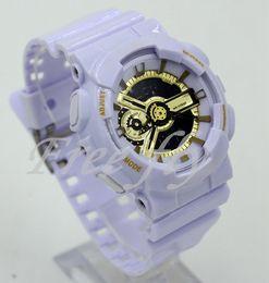 2018 relogio G110 relojes deportivos para hombres, reloj con cronógrafo LED, sin caja, reloj militar, pequeños punteros, sin trabajo, buen regalo para hombres, envío directo desde fabricantes