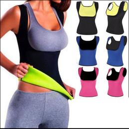 Wholesale Tummy Shaper Vest - Women Waist Bust Shaper Push Up Vest Waist Trainer Cinchers Body Shaper Tummy Slimmer Shaper Vest KKA2910