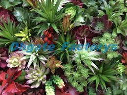 Wholesale wholesale artificial cactus plants - Artificial Plants With Vase Bonsai Tropical Cactus Fake Succulent Plant Potted Office Home Decorative Flower Pot