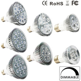 Wholesale 2017 Dimmable Led bulb par38 par30 par20 V W W W W W W E27 LED Lighting Spot Lamp light downlight