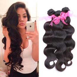 """Wholesale Buy Unprocessed Virgin Hair - Wholesale Virgin Brazilian Body Wave Hair 3 Bundles 8""""-28"""" Unprocessed Virgin Human Hair Body Wave Buy Brazilian Virgin Hair Extensions Weft"""