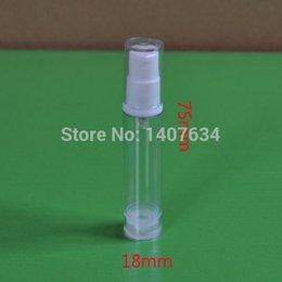 Wholesale Short Plastic Bottles - Hot sale, 50pcs   lot, 5ml bald vacuum bottles, short duckbill vacuum bottles, perfume bottles, plastic bottles