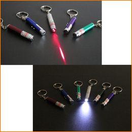 laser stick Rebajas Nuevo - Pluma del puntero láser de gran alcance popular, demostración de la luz del LED Juguete divertido del palillo del gato del juguete del palillo de la mascota