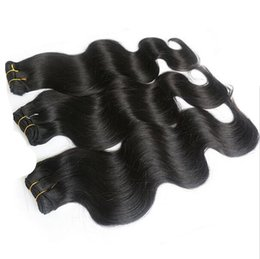 Wholesale Wholesale Eurasian Virgin Hair - 2017 hot selling unprocessed eurasian virgin hair body wave 3pcs lot hair extension free shedding hair products