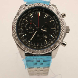 Wholesale Luxur Watches - wholesale luxur watch men Quartz Chronograph Watch Motors T A25363 Stainless Special Edition Mens Cassic Wristwatch Black Dial mens watches