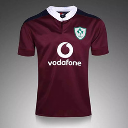 Wholesale Heat Transfer Logo Printing - Free shipping!NRL National Rugby League Ireland Country 16-17 new jersey (team logo stitched!!!) High-temperature heat transfer printing