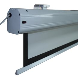 Wholesale Matt Mounts - Electric Projection Screen Matt White pantalla proyeccion for LED LCD HD Movie Motorized Projector Screen linda motorized projection screen