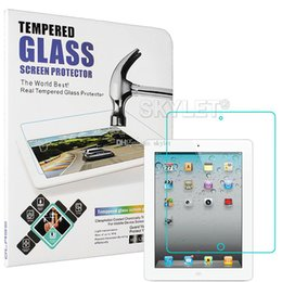 Wholesale Wholesale Mini Tablets - Skylet For iPAD Tempered Glass Screen Protector For Ipad 2 3 4 Ipad mini Film Tablet Screen Protector 9H 0.4MM Tempered Glass Retail Package