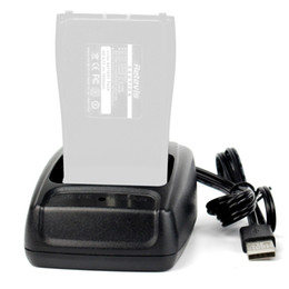 Wholesale Usb Chager - Wholesale- USB Li-ion Radio Battery Charger 100-240v for Baofeng BF-888S BF-666S BF-777S Retevis H777 Ham Radio Chager J6337A