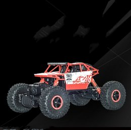Wholesale Toy Buggy Car Electric - Remote Control Car Four Drive Four Drive Big Feet Off Road Climbing Cars Boy Model Toy Shock Absorption Resistance To Fall 65tx I1