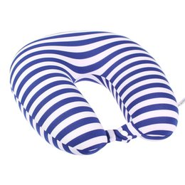 Wholesale Beads Pillows Wholesale - Wholesale- U-Shape Pillow Nano Beads Neck Pillow Protect Headrest Travel Soft Cushion