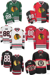 Wholesale Cool Hockey - 2016 Wholesale MENS CHICAGO BLACKHAWKS 88 PATRICK KANE Cheap Cool uniforms 100% STITCHED TOP QUALITY ICE HOCKEY JERSEYS HOT SALE