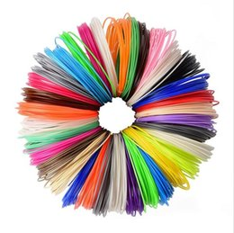 Wholesale Abs Pla Plastic - 3D Printer Material ABS PLA Filament 1.75mm Plastic Rubber Consumables Material 3d Pen Filament Refills