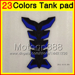 Wholesale Honda Cbr Rr 1988 - 23Colors 3D Carbon Fiber Gas Tank Pad Protector For HONDA CBR250RR 88 89 MC19 CBR250 RR CBR 250RR CBR 250 RR 1988 1989 3D Tank Cap Sticker