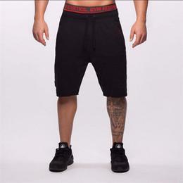Wholesale Aesthetic Shorts - Wholesale- New Brand High Quality Men shorts Bodybuilding Fitness Gasp Gyms Aesthetics basketballRunning workout jogger shorts golds