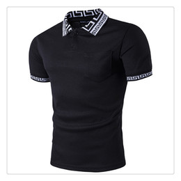 Wholesale Men S Business Casual Shirts - Polo T-shirt New Fashion Mens Business Casual Short-Sleeves Summer Breathable Golf Polo T-shirts US Size:XS-L