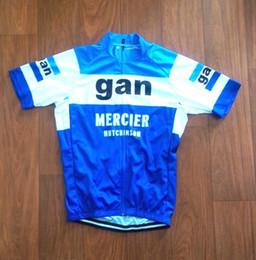 213e9b7f4 2018 Brand New Team GAN Mercier cycling Jersey breathable cycling jerseys  Short sleeve summer quick dry cloth MTB Ropa Ciclismo B35