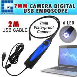 Wholesale Video Camera Interface - VID-98A USB 1.1 or 2.0 Interface Video Inspection Borescope Endoscope 830mm Flexible Tube with 7mm Waterproof Camera Head