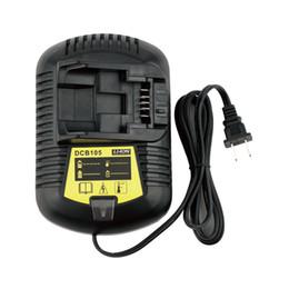 Wholesale Dewalt Replacement Battery - DCB105 12V MAX and 20V MAX Li-Ion Battery Charger Replacement for Dewalt DCB102 DCB101 DCB107 DCB112 DCB115, 110Volt Input US Plug