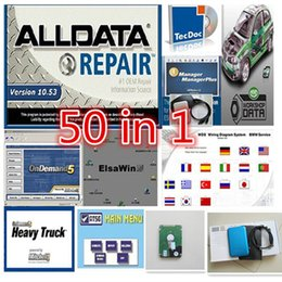 Wholesale Peugeot Software - New Arrival Alldata and mitchell on demand 2015+ ElsaWin 5.2+ vivid workshop +manager ect all data 50 in 1TB HDD auto repair