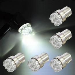 Wholesale G18 Light - 5 x Car G18 9SMD White Led Turn Brake Taillights Lights Lamp Bulb