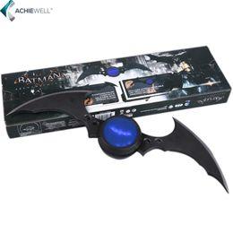 Wholesale Batman Arkham - NECA Cartoon Comics Super hero Batman Weapon Boomerang Arkham Knight Batarang Replica Action Figure Light Collectible Model Toy