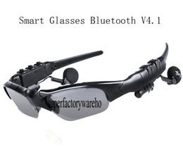 Mode Smart V4.1 Bluetooth Brille Stereo Musik Anrufe Freisprecheinrichtung Intelligente Steuerung Telefon Kamera Foto Video für Selfie. von Fabrikanten