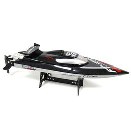 Wholesale Electric Rc Boats Racing - Wholesale- Hot Sale New FT012 Upgraded FT009 2.4G Brushless RC Remote Control Racing Boat Toy