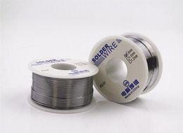 Wholesale Wholesale Welding Wire - 3PCS Wholesale High Purity Lead Soldering Wire 1mm Flux 2.2% 63 37 Roll Rosin Core Tin Welding Iron Wire Reel Welding Practice 100g PCS
