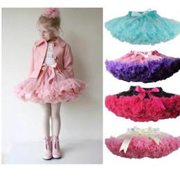 Wholesale Ballet Skirts For Kids - Girls Tutu Skirt Fluffy Children Ballet Kids Pettiskirt Baby Girl Skirts Princess Tulle Party Dance Skirts For Girls Skirt KKA3449