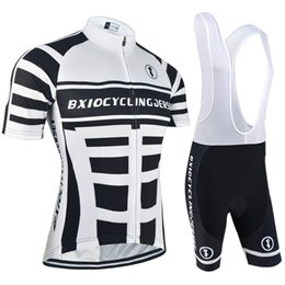 Wholesale Clothes Cyclist - BXIO Cycling Jerseys Cool Men Cycle Clothing Sets for Cyclist Short Sleeve Lycra Cycle Clothing Summer Cycling Apparel Kits BX-002