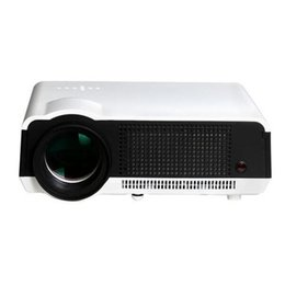 Wholesale Movie Shows - Wholesale-Full hd Portable 3d led projectors 200W led lamp brightness enough for daytime use for Gaming TV Shows Movies and Sports