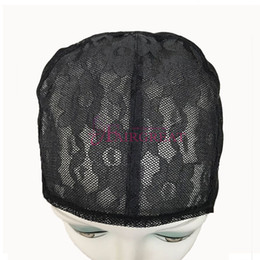 Wholesale Wholesale Price Quality Weave - Wholesale price Wig Caps For Making Adjustable Straps Back Swiss Lace Full Front Lace Wig Cap Wig Weave Net Hair Extensions Best Quality